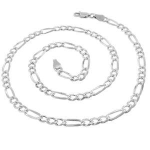925 Italian Sterling Silver 4mm 18in chain